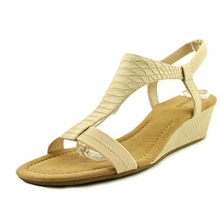 a598d92ea Shop Alfani Womens Vancanza Open Toe Casual Platform Sandals - pale - 7 -  Free Shipping On Orders Over  45 - Overstock.com - 25573401