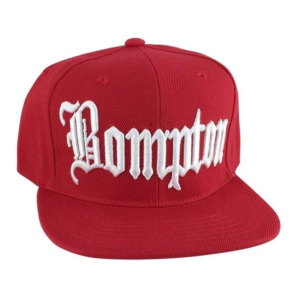 Bompton Hat: Shop Bompton City Black Red Logo Snapback Hat Cap By