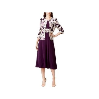 Jessica Howard Womens Dress With Jacket Lined 2PC