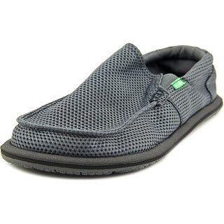 Sanuk Trailgater Mesh Men Round Toe Synthetic Gray Loafer