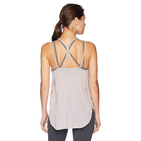 Calvin Klein Performance Women's Epic Knit Strappy Tank (XL)