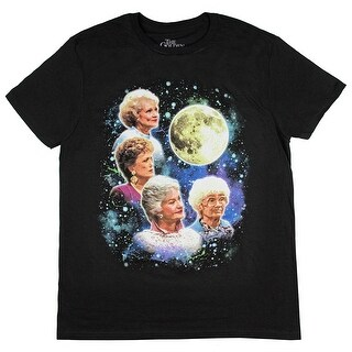 The Golden Girls Women's Four Golden Girls Moon T-Shirt