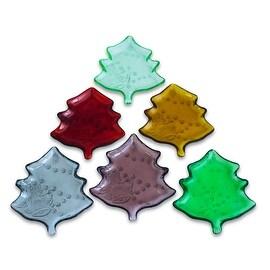 Studio Silversmith Christmas Tree Plate, Set of 6