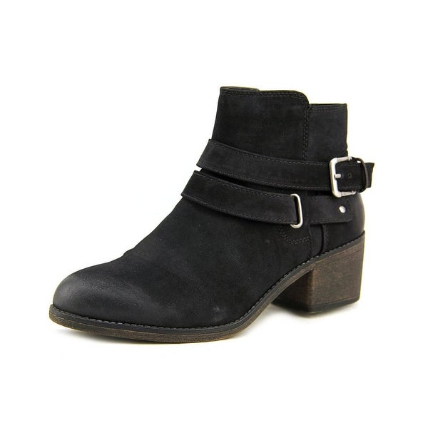 Famous Name Brand Bridget Women Round Toe Synthetic Bootie