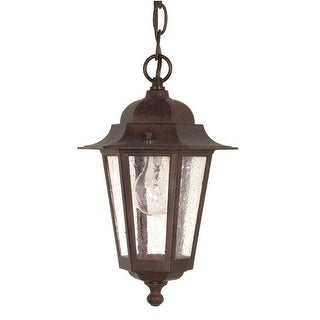 Nuvo Lighting 60/992 Single Light Down Lighting Outdoor Pendant from the Cornerstone Collection