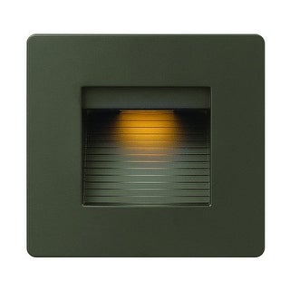 "Hinkley Lighting 58506 1 Light 4.5"" Height LED Outdoor Step Light from the Luna Collection"