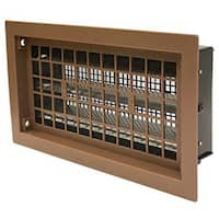 """Air Vent RABR Heavy-Duty Automatic Foundation Vent, Brown, 50"""""""