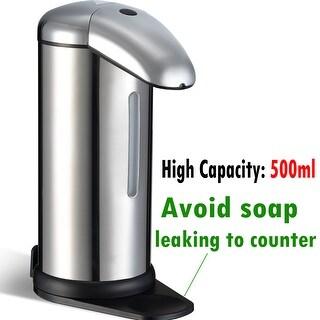 500ml Automatic Soap Dispenser No Touch Touchless Sensor Kitchen Bathroom  Liquid Soap Dispenser