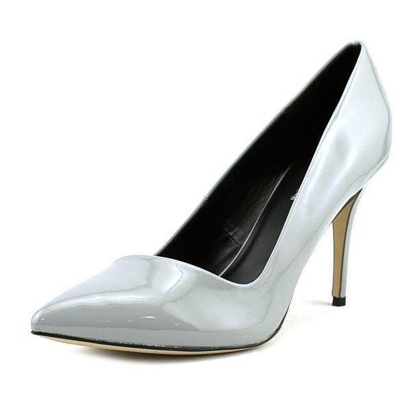 Aldo Ocaria Women Pointed Toe Synthetic Gray Heels