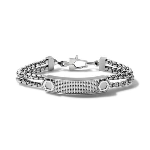 Bulova Mens Precisionist ID Link - J96B003L - Silver