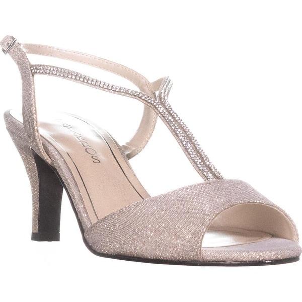 b9f19b6e81c Shop Caparros Delicia Sparkle T-Strap Peep Toe Dress Sandals