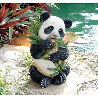 Design Toscano Tian Shan, the Asian Panda Sculpture