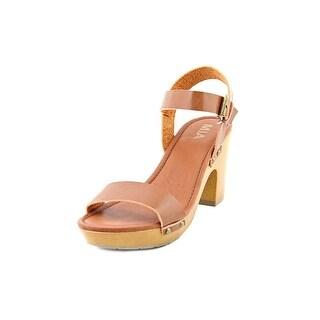 Mia Manuela Women Open Toe Synthetic Platform Sandal