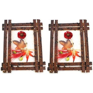 Crickets by the Creek Hanging Wall Decor Set of 2