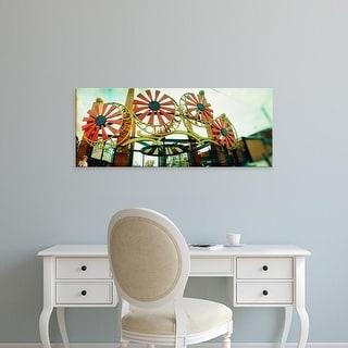 Easy Art Prints Panoramic Image 'Amusement park, Luna Park, Coney Island, Brooklyn, New York City, New York' Canvas Art