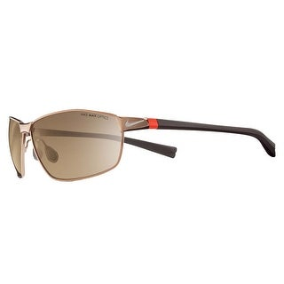 Nike Mens Stride Walnut/Classic Brown with Brown Lens Sunglasses