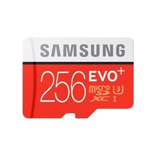 Samsung MicroSDXC EVO Plus Memory Card - 256GB Memory Card With Adapter