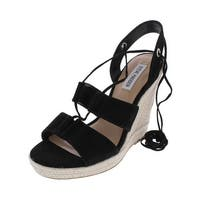 fb19f5f1167d Shop Steve Madden Womens Kea Wedge Sandals Open Toe Slingback - Free ...