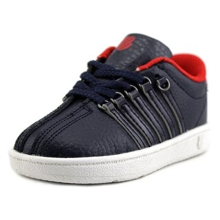 K-Swiss Classic VN Toddler Round Toe Synthetic Blue Sneakers