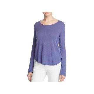 Splendid Womens Pullover Top Knit Long Sleeves