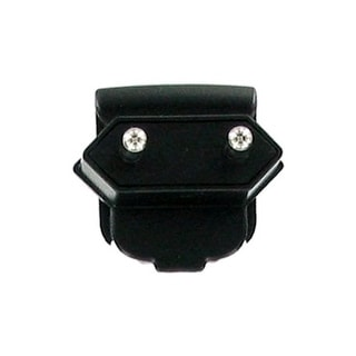 OEM BlackBerry Continental Europe Adapter Prong (Black) - ASY-03746-002