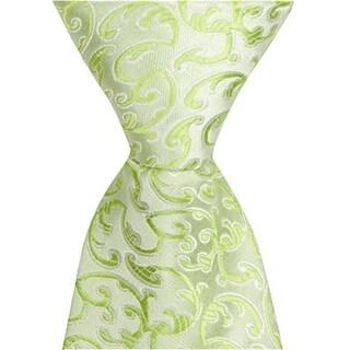 Matching Tie Guy 4157 G9 - 59 in. Adult Necktie - Green With Vines