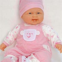 Dolls By Berenguer  Lots to Cuddle Caucasian Baby Doll - 20 Inches