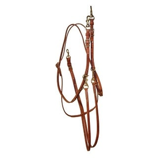 Berlin Custom Leather Martingale Hermann Oak German Barrel Reins