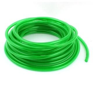 Air Pneumatic 10m 33ft 8mmx5mm Clear Green Polyurethane Tube PU Hose