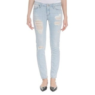 IRO Jeans NEW Blue Women's Size 27X29 Slim Skinny Distressed Jeans