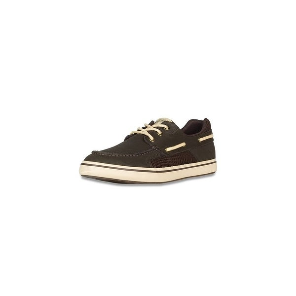 Xtratuf Men's Finatic II Deck Chocolate Shoes w/ Non-Marking Outsole - Size 14