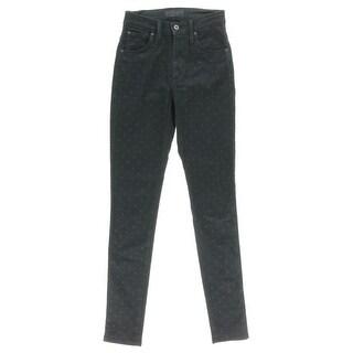 James Jeans Womens Skinny Jeans Denim Pattern - 25