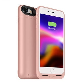 2,525mAh Battery Case Juice Pack Air by mophie For iPhone 7 & 8 - rose gold