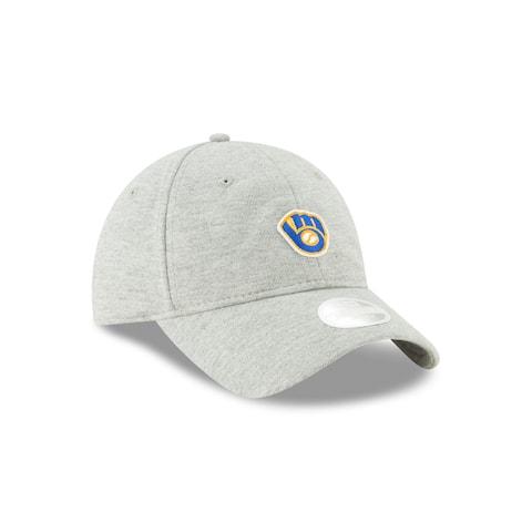 Milwaukee Brewers Preppy Team 9TWENTY Women's Adjustable Hat