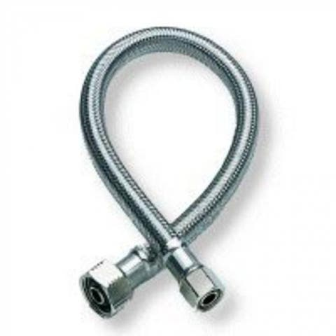 """Fluidmaster B4F20 Faucet Connector, Braided Stainless Steel, 20"""""""