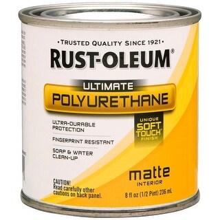 Ultimate Polyurethane 8Oz-Clear Matte