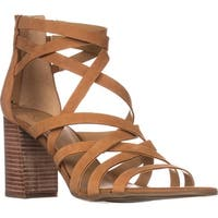 Franco Sarto Madrid Strappy Heeled Sandals, Biscuit