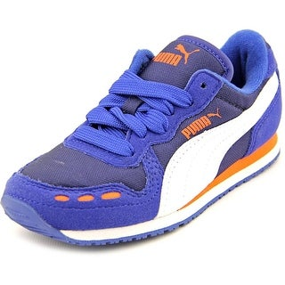 Puma Cabana Racer Mesh Jr. Round Toe Canvas Sneakers