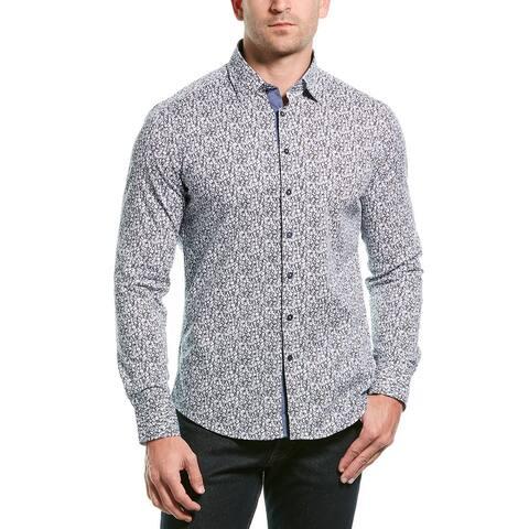 Stone Rose Button-Down Shirt