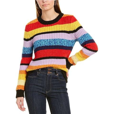 Alice Olivia Barb Wool-Blend Sweater