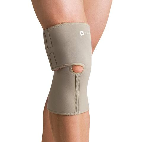 Orthozone Thermoskin(r) Arthritic Knee Wrap - Warming Light Compression Brace - Beige