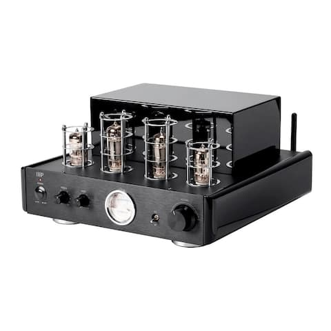 Monoprice Stereo Hybrid Tube Amplifier With Bluetooth & Line Output 50 Watt