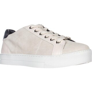 Coach Paddy Casual Fashion Sneakers, Chalk/Midnight Navy