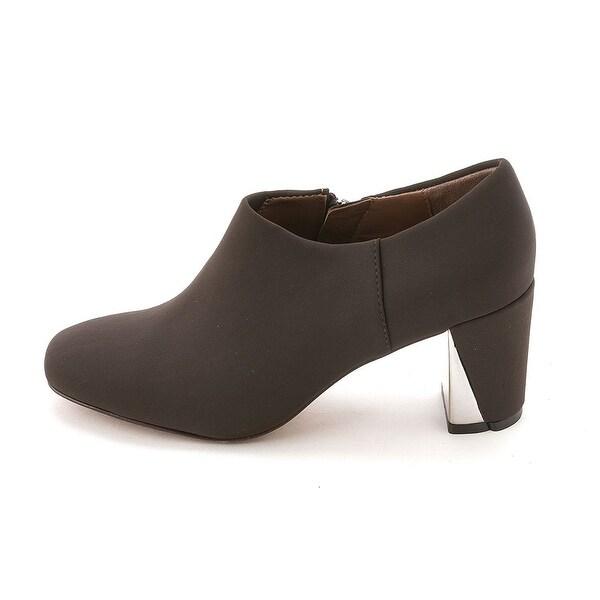 Donald J Pliner Womens Crepe Elastic Closed Toe Platform Boots - 7.5