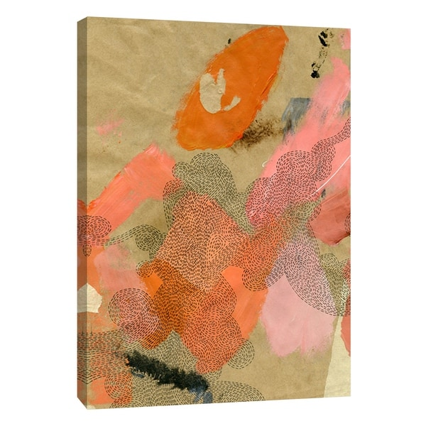 """PTM Images 9-108738 PTM Canvas Collection 10"""" x 8"""" - """"Lost in Transit 5"""" Giclee Patterns and Designs Art Print on Canvas"""