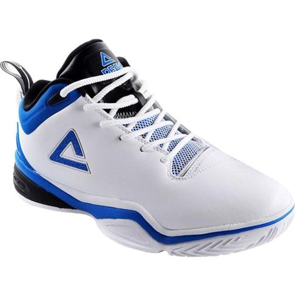 Shop Peak Men s Jason Kidd Basketball Shoe White Indigo Blue - Free ... 1c35cb6f0b3
