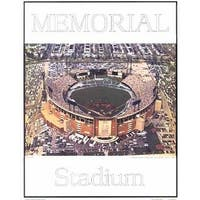 ''Memorial Stadium - Baltimore, Maryland'' by Mike Smith Stadiums Art Print (28 x 22 in.)
