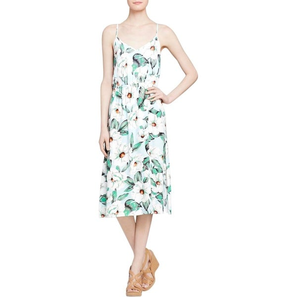 Minkpink Womens Sundress Floral V-Neck