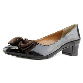 J. Renee Cameo W Round Toe Patent Leather Heels