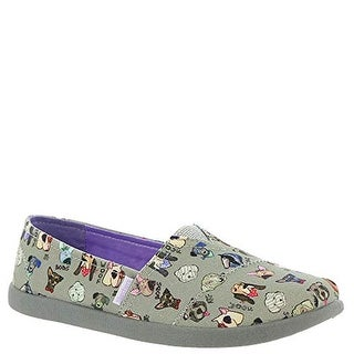 Skechers Bobs Dogs Soletstice 2.0-Wooftastic Girls' Toddler-Youth Slip On 11.5 M Us Little Kid Grey